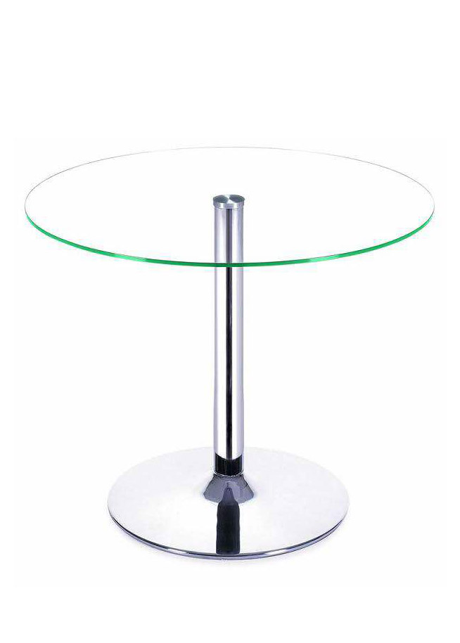 Glass Round Discussion Table - TCT Office Chair Malaysia